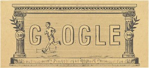 google doodle olympic 1896