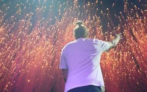 David Guetta, Untold Festival, photo from Adriana Maria Radu